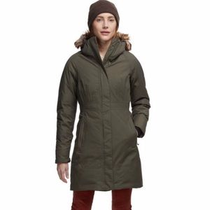 The North Face   Women's Arctic Parka Green